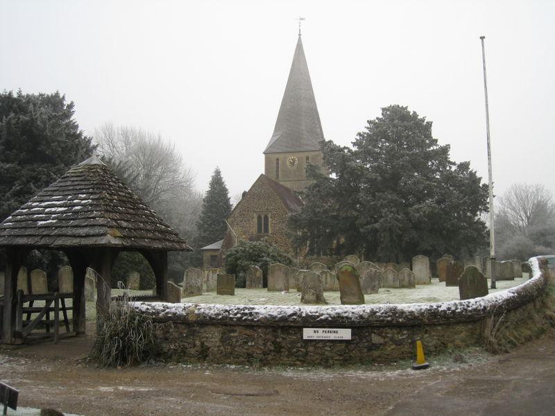Our Church and the churchyard